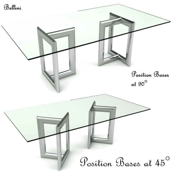 Glass Conference Table