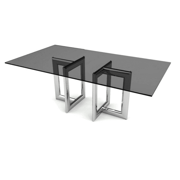 Smoke Glass Conference Table