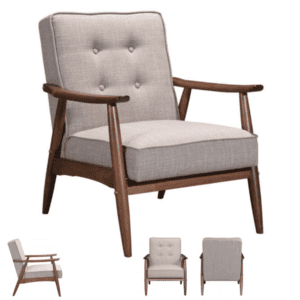 Mid-century guest chair