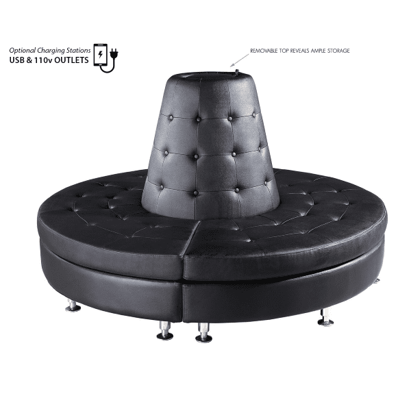3-Piece Modular Round Seating