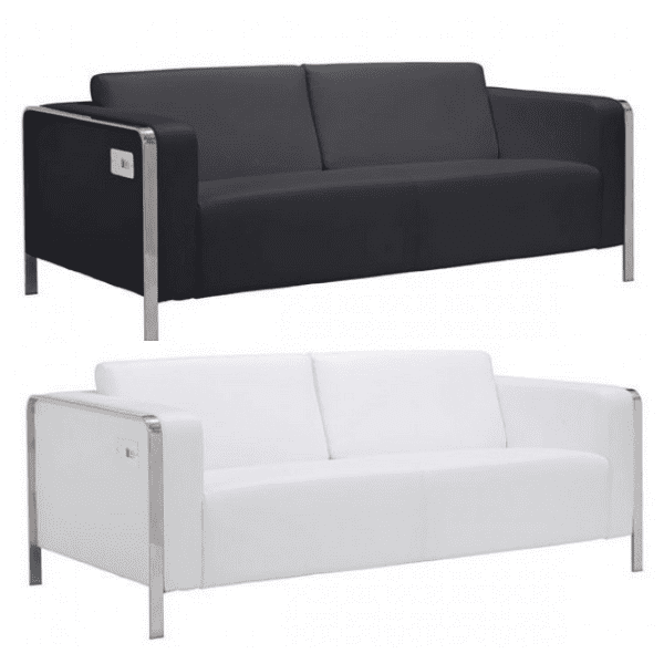 USB Sofa White or Black