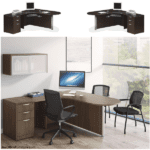 Interior Curve Bullet Desk