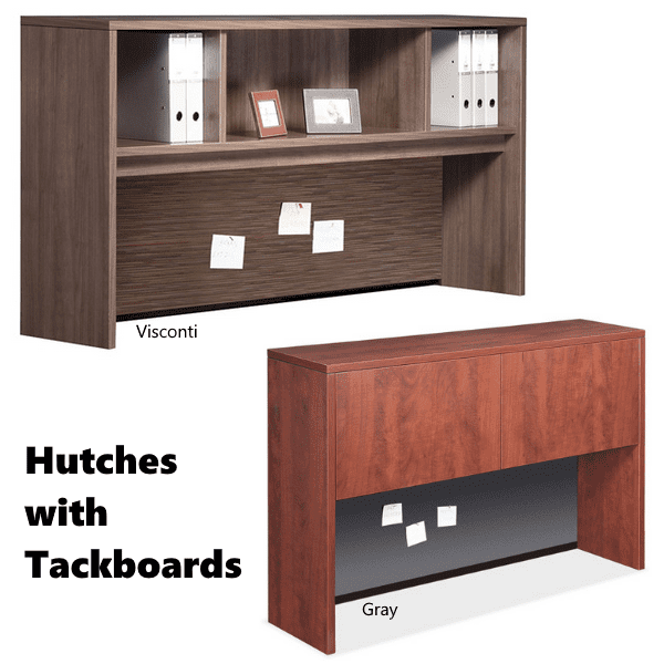 tackboard hutches