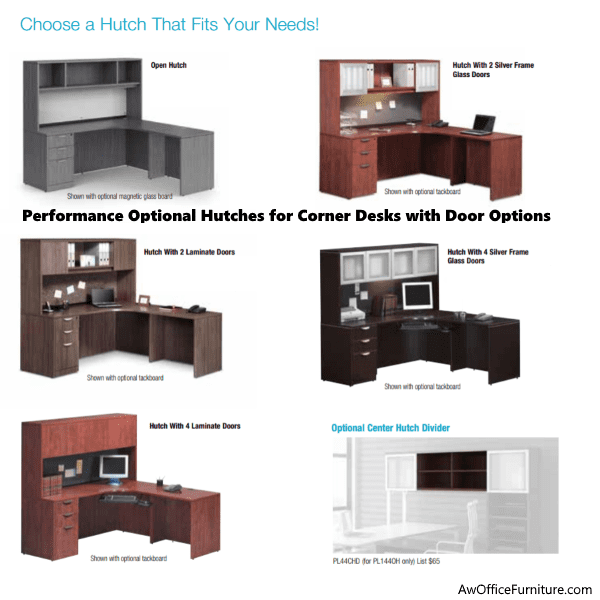 Desk and Hutch Sets