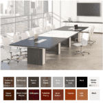 Deskmakers Rectangular Conference Table 14' 16' 18' 20'