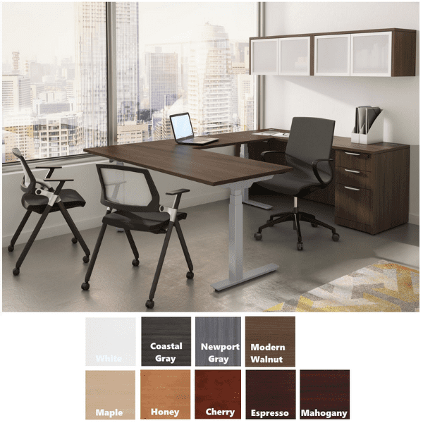 Electric Sit Stand Desk Suite