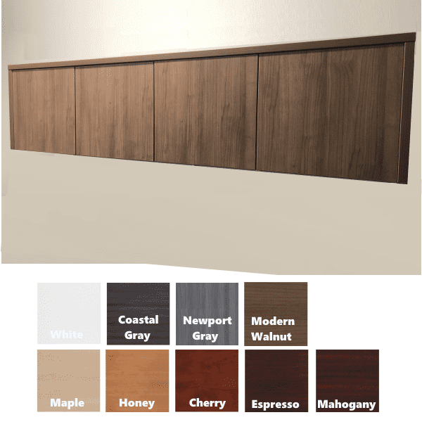 Performance Wall Mount Storage Hutch