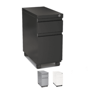 Mobile 2-Drawer Slim Pedestal