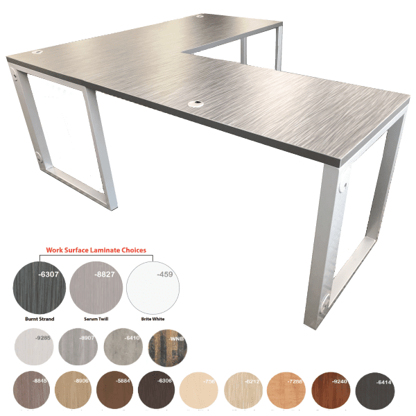 Steel Contemporary Desks
