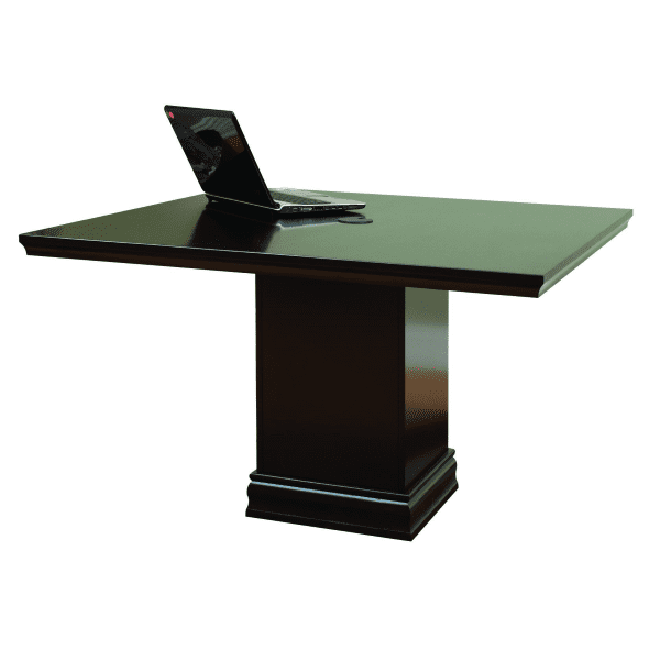 Pedestal Base Square Table