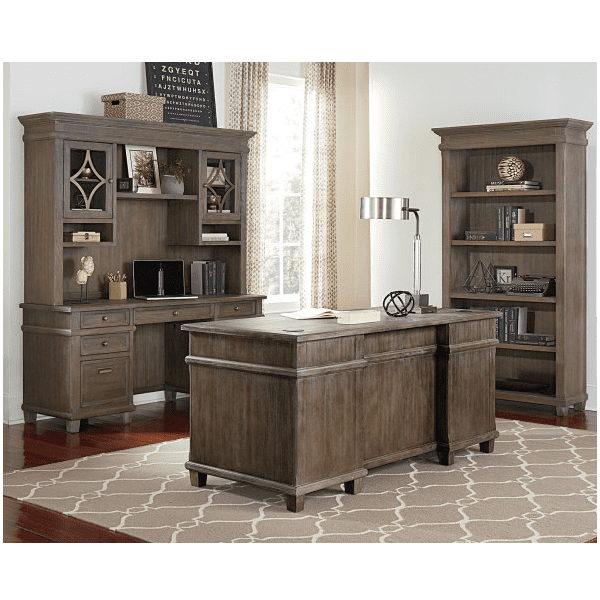 4 Piece Office Furniture Room Setting