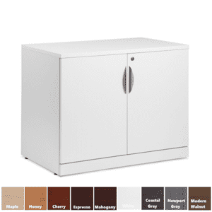 PL113 2-Door Storage Cabinet with Adjustable Shelf