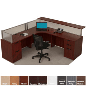 Performance Laminate Reception Desk