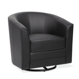 Round Swivel Base Reception Chair