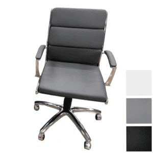 Segmented Back Conference Chair