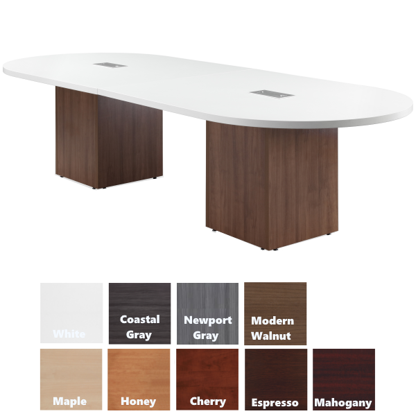 Two Tone Conference Table