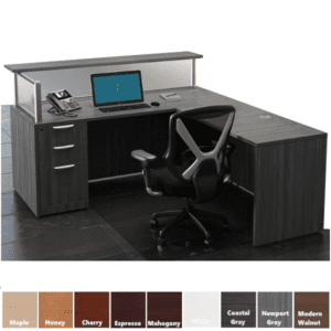 PL L-Shaped Reception Desk