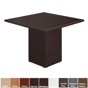 """42"""" or 48"""" Square Cubed Table"""
