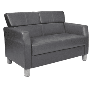 Loveseat in Pewter