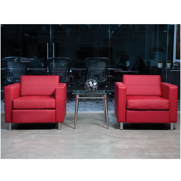 Reception Chairs in Red