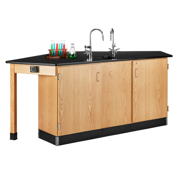 Lab Furniture Workstation with Sink