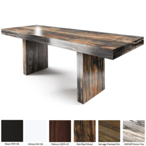 Petrified Wood Standing table