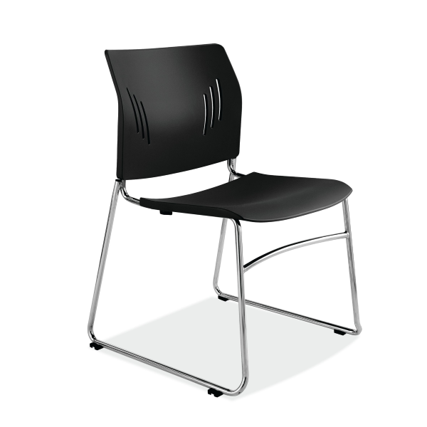 3080 Black Stack Chair