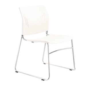 3080 White Stack Chair