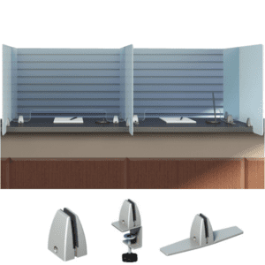Sneeze Guard Protective Barrier - AW Office Furniture