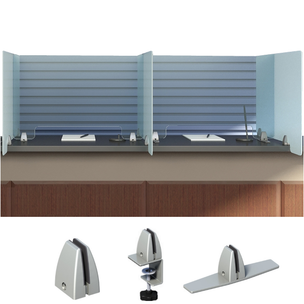 Sneeze Guard Panels Social Distancing Protective Barriers Clear Acrylic
