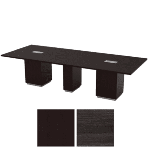 "TUX61 120"" conference table with cube base"