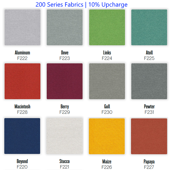 200 Series Fabric Swatches