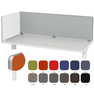 Edge Band Fabric Panel for Desk - Partition