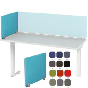 Desk Panel in Fabric Material