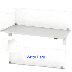 Mergeworks Enclave Panels - Writable Dry Erase Screens for Desks