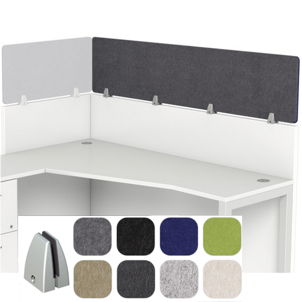 Acoustical Wall Mount Cubicle Hardware