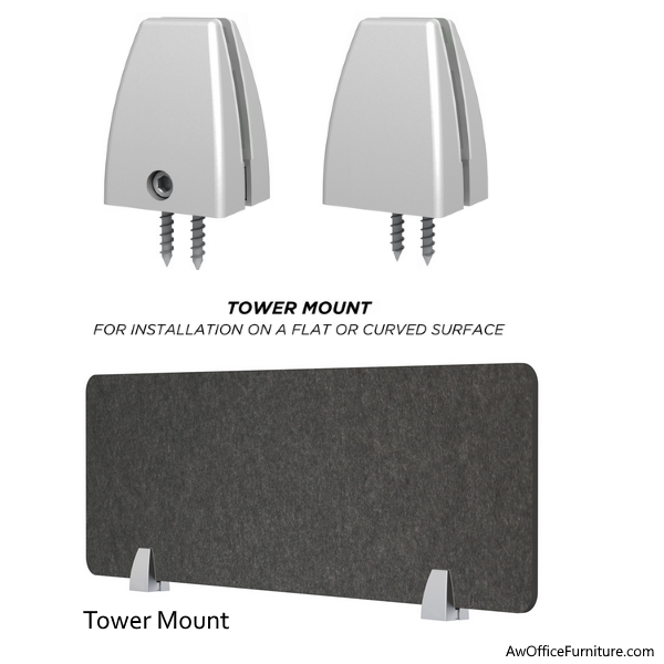 Permanent Tower Mount Brackets