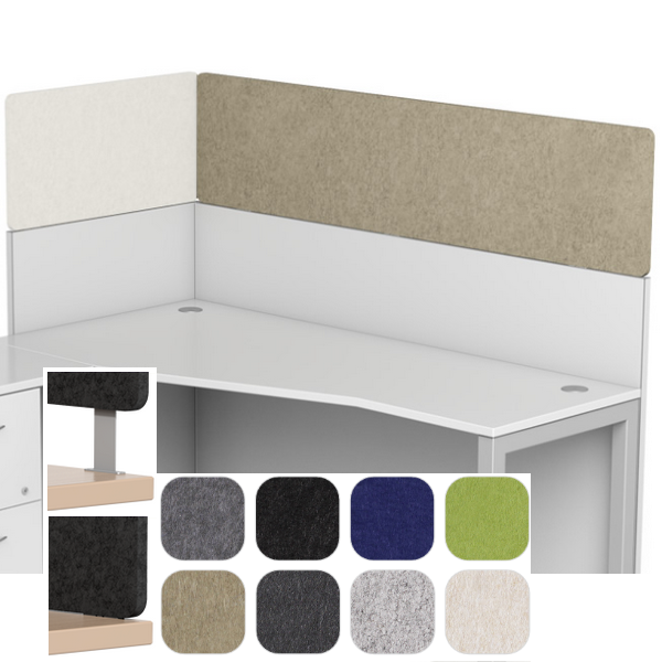 Acoustic Cubicle Height Panels