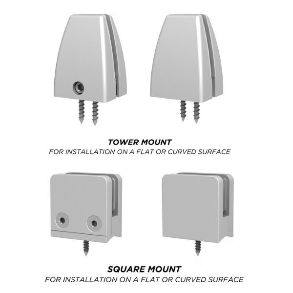 Cubicle Mounting Hardware Brackets