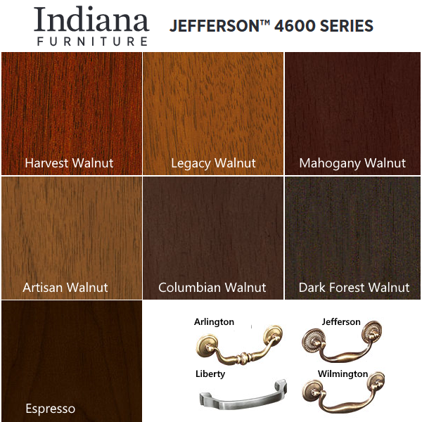 Indiana Furniture 4600 Series - Jefferson Collection