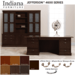 Indiana Jefferson Wood Office Series