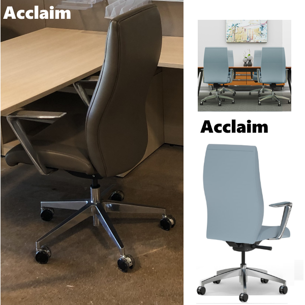 Acclaim Chair from 9to5 Seating - Rear View