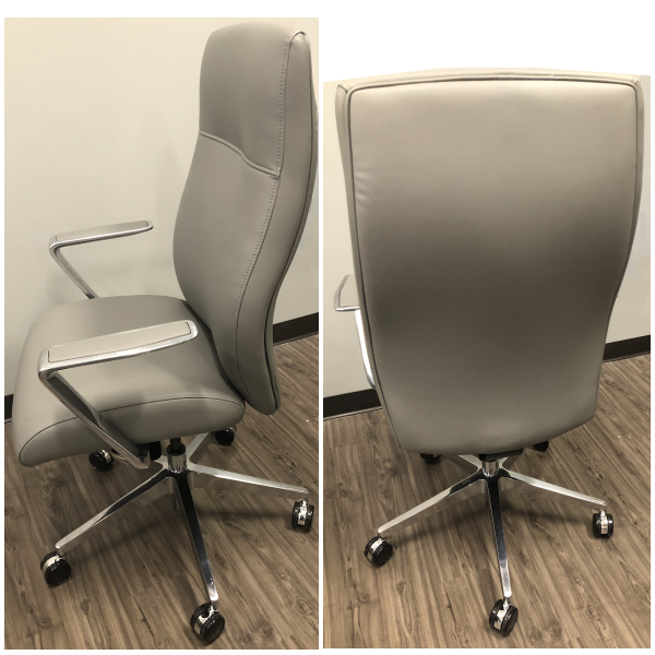 Acclaim Chair 9to5 Seating - Side and Rear