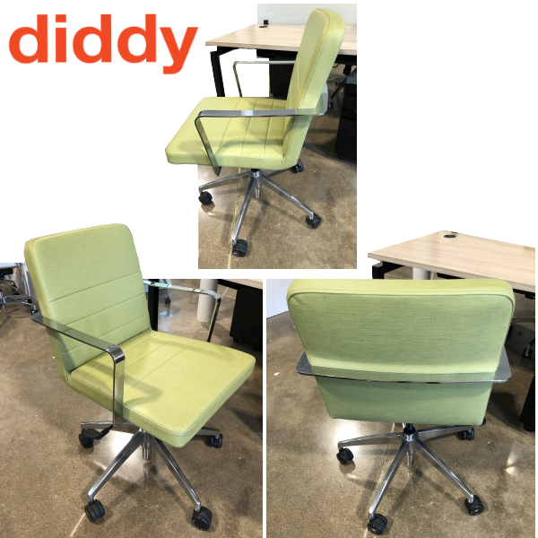 9to5 Seating Diddy Swivel Office Chair - Grade C Designer Textiles
