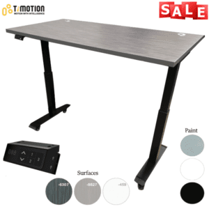 Mobile Height Adjustable Desk