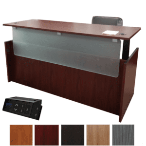 Executive Casing Height Adjustable Desk - Dual Motors