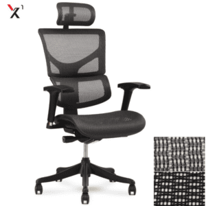 X1 Black Mesh with Headrest