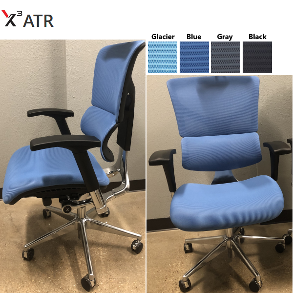 X3 Management Chair in ATR Stain Resistant Mesh