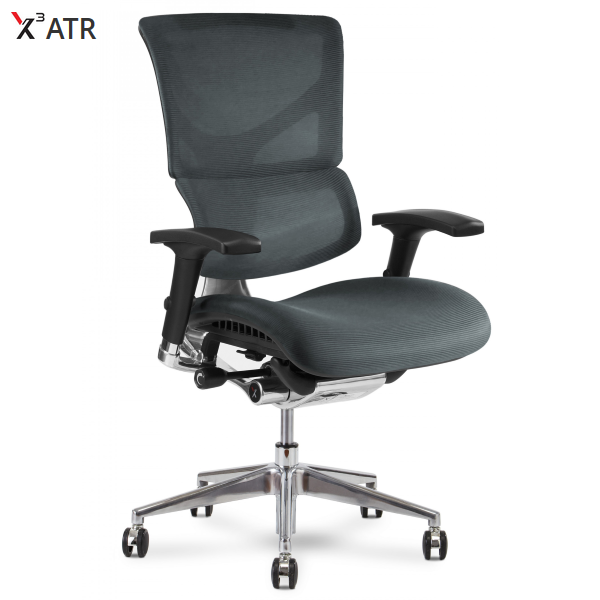 X3 Gray Mesh Chair from X-Chair
