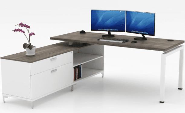 Blade Storage Bench L-Desk | 6 Sizes